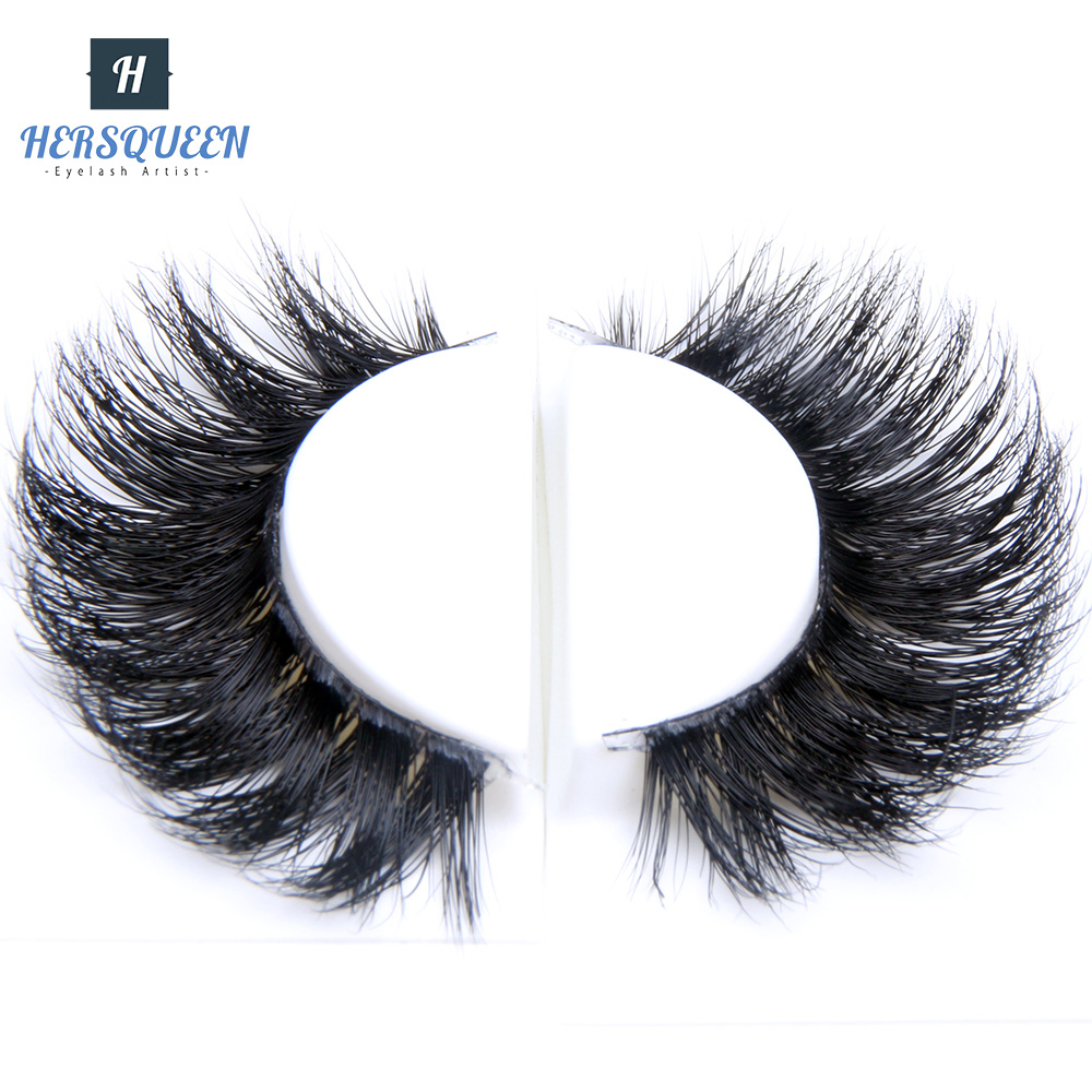 Fast Shipping Strip Mink Eyelash 3D Mink Eyelashes With Custom Eyelash Packaging Clear Band Invisible Mink Eyelashes