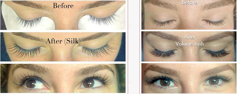 ad4685aa833 Volume lashes on the other hand, are actually lighter than classic lashes.  1 (3D) Volume fan weighs less than 1 classic lash. Also, a lot less glue is  used ...